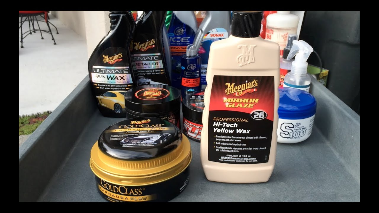 Meguiars Ultimate Wash And Wax Vs Gold Class Car Wash