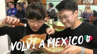 Me enseñaron a COCINAR comida MEXICANA -  ¡Volví a México! | kenroVlogs ft. Coreano Vlogs