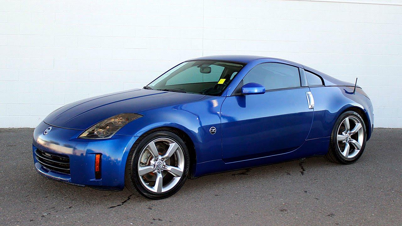 Nissan Z Red >> Sonora Nissan, Yuma, Arizona, 85364, N8918B 2006 Nissan 350Z, Daytona Blue Metallic - YouTube