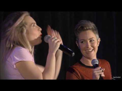 OrlCon Kim Rhodes and Briana Buckmaster FULL Panel 2018 Supernatural