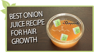 Onion juice for hair regrowth before and after