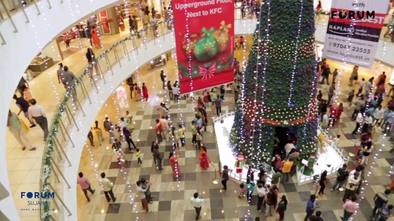 Christmas Shopping 2020 Forums Christmas @ Forum Hyderabad   YouTube