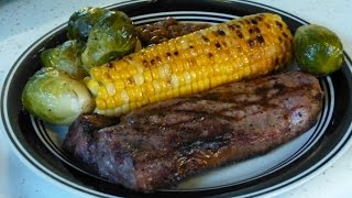 New York Strip Steak, N' Corn On The Cob, Dw's Weekly Grilling!