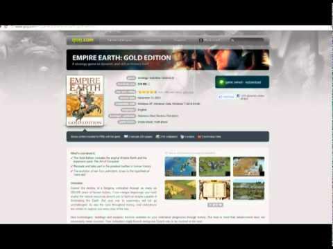 empire earth 2 gold edition no-cd crack tutorial