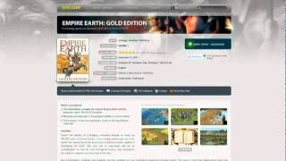 Empire Earth: Gold Edition for Free
