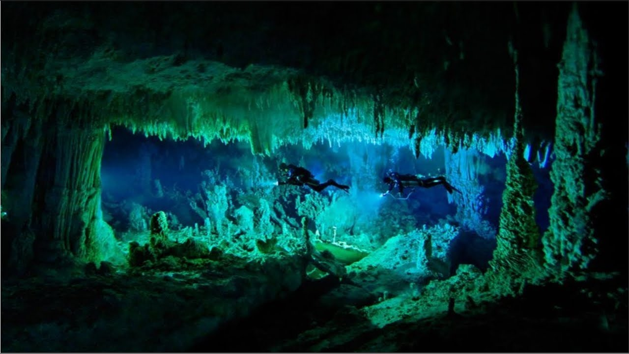 Underwater Caves Discovered In Chile With Skeletons