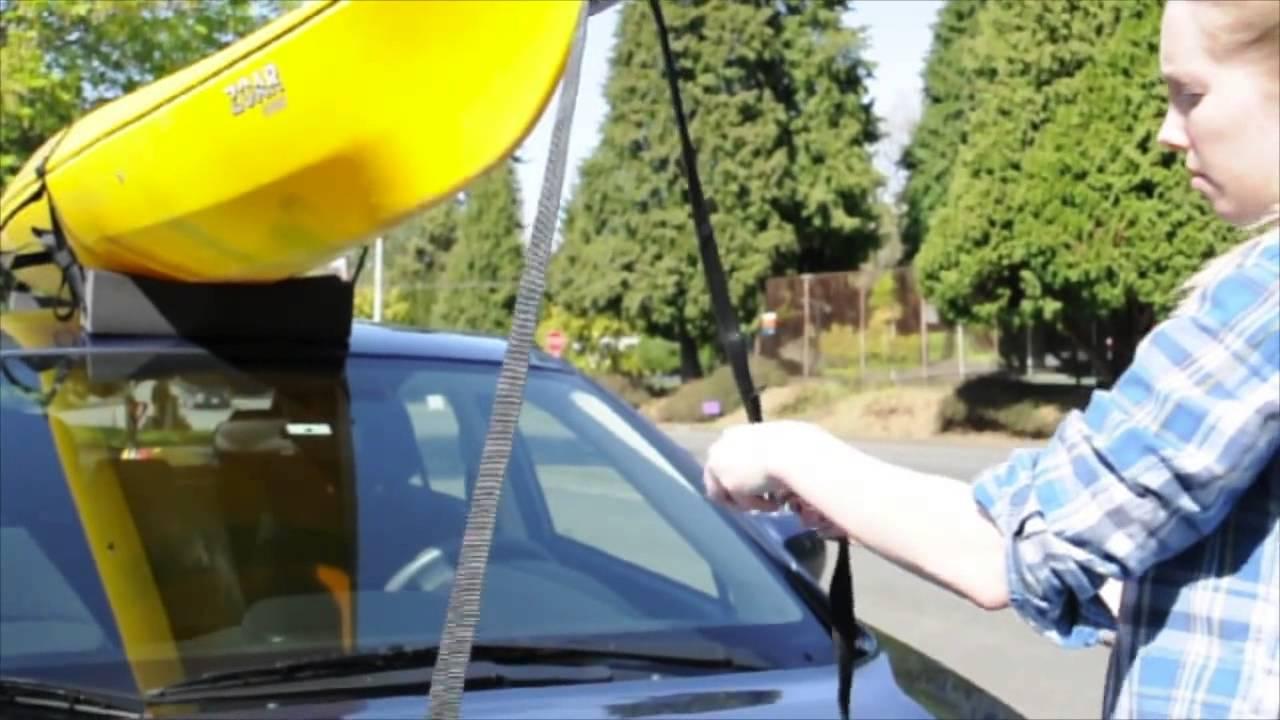 Riverside Cartop Carriers Universal Kayak Carrier Kit
