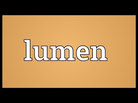 Lumen Meaning