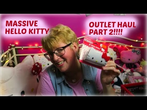 MASSIVE Hello Kitty OUTLET haul part 2!!!
