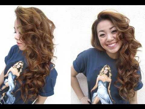 Curling Hair With A Flat Iron Youtube