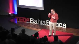 Observando nuestra mirada | Osvaldo Agamennoni | TEDxBahiaBlanca