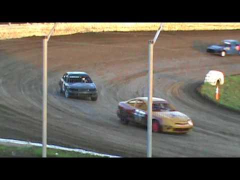 Humboldt Speedway Sport Compact Heat Race 7-28-17