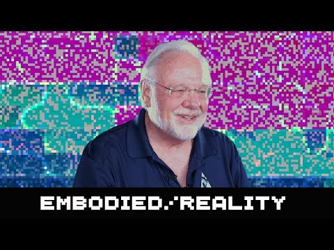 Grandfather of VR, Tom Furness on Embodied Cognition : AWE 2017
