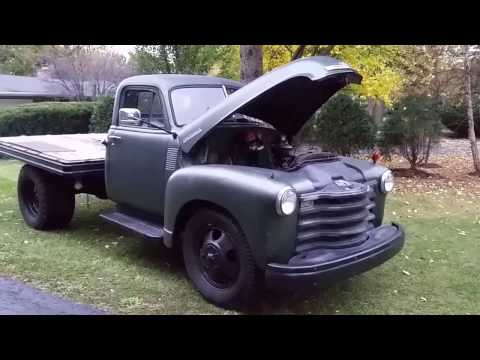 1951 Chevrolet 4100 W Dump Bed Classic Chevy Youtube