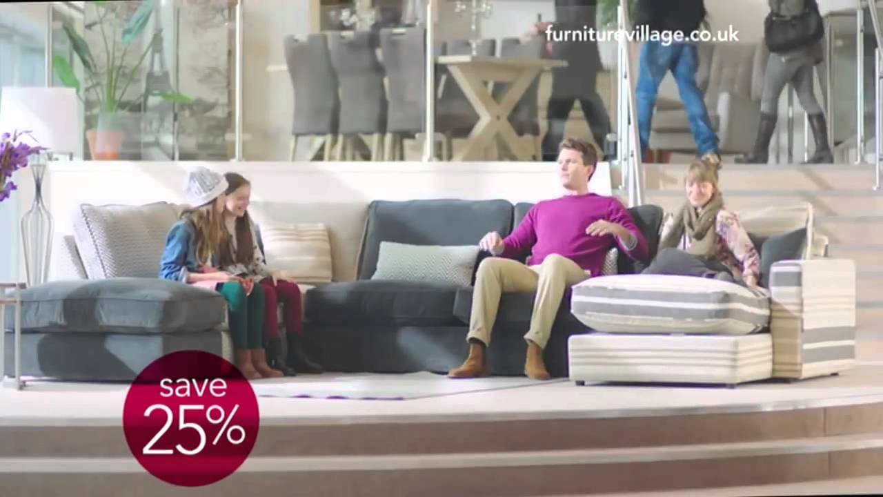 Furniture Village Advert 2015 furniture village autumn sale '14 for lots of choice and real