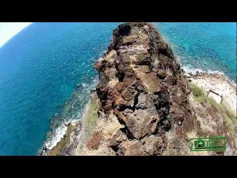 Lahilahi Point, Makaha Beach (GoPro 2 POV)