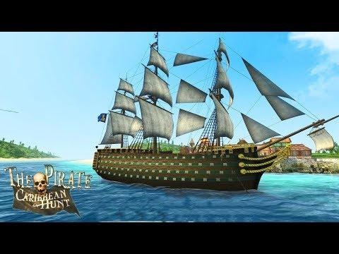 The Pirate Caribbean Hunt Прохождение 7 (все с начала)