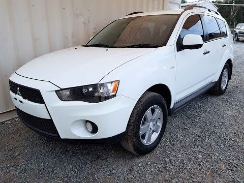 (SOLD) Safe and Reliable SUV Mitsubishi Outlander Manual  2011 Review