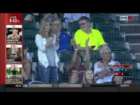 Matt Buschmann MLB debut - SportsCenter highlight