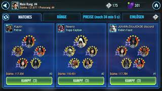 Rebels with Thrawn against GXIII DR+ Malak swgoh
