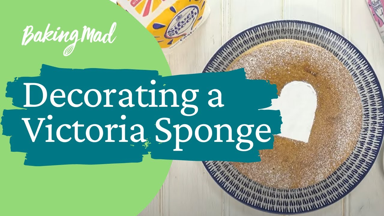 How To Decorate Your Victoria Sponge 3 Ways Baking Mad