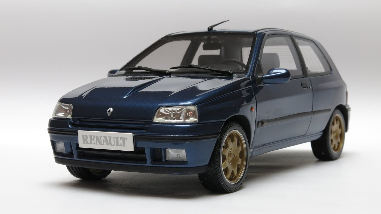 renault clio williams phase 2 1995 otto mobile models 1 18 ot001 youtube. Black Bedroom Furniture Sets. Home Design Ideas