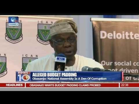 National Assembly Is A Den Of Corruption - Obasanjo
