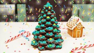 Новогодняя елка из имбирного печенья. Пряничная елка | Gingerbread christmas tree