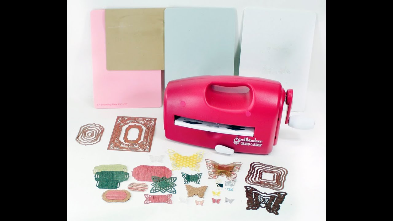 die cutting embossing machine