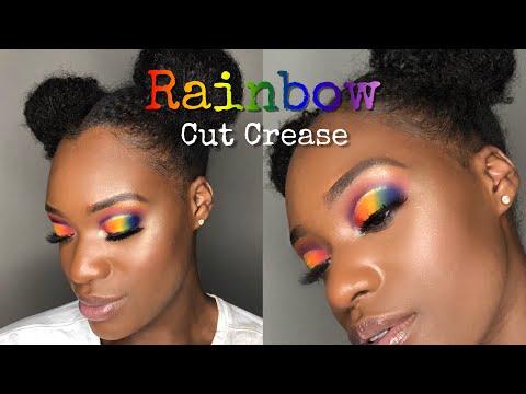 Rainbow Cut Crease 🌈 | Take Me Back to Brazil Palette | Natasha Nicole thumbnail