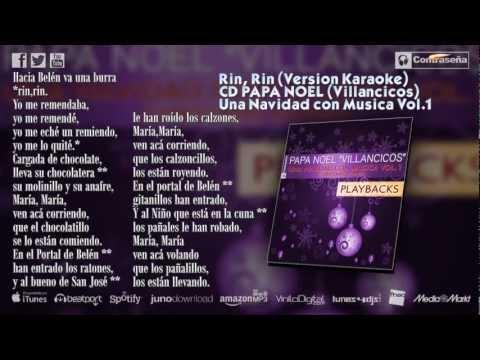 Hacia Belén Va Una Burra Rin Rin Yo Me Remendaba Yo Me Remendé Rin Rin Villancico Karaoke Youtube