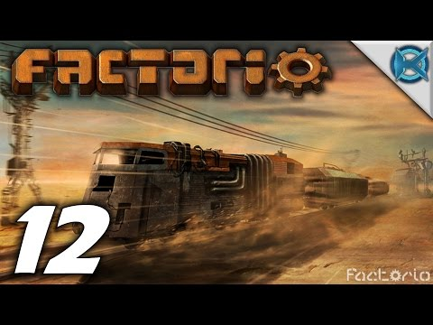 "Factorio 0.12 Gameplay / Let's Play (S-1) -Ep. 12- ""Alien Base Attacks"""