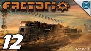 "Factorio 0.12 Gameplay / Let's Play (s-1) -ep. 12- ""alien Base Attacks"""