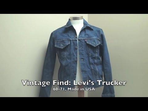 Vintage Finds: Levi's Trucker Jacket Type III 60-71