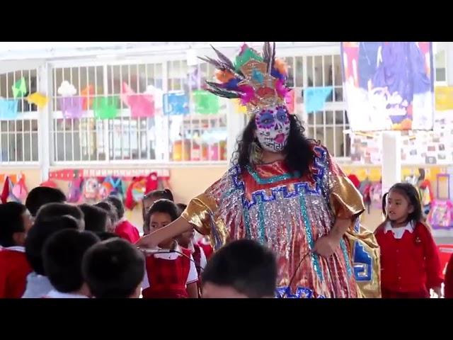 """""""Caminito al Mictlán"""" show de Musijugarte celebrando el día de muertos."""