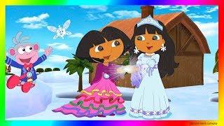 Dora and Friends The Explorer Cartoon Adventure  Dora Saves The Snow Princess with Dora Explorer