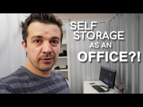 Self Storage Office - OPTIMISED For Video Production! (2018)