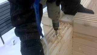 видео Основные комплектующие для строительства деревянного дома