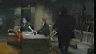 Jerry Lawler slaps Andy Kaufman on David Letterman Show