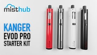 Kanger EVOD Pro Starter Kit Video