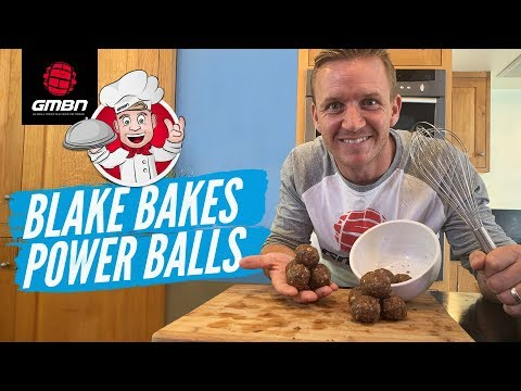 How To Make Homemade Power Balls For MTB Riding   Blake Bakes Trail Snacks
