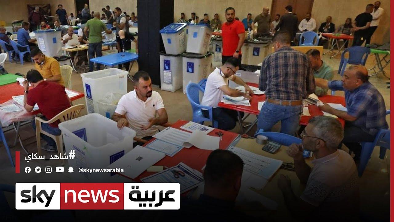 القوى الشيعية الخاسرة تحتج على نتائج الانتخابات العراقية  - 15:54-2021 / 10 / 18