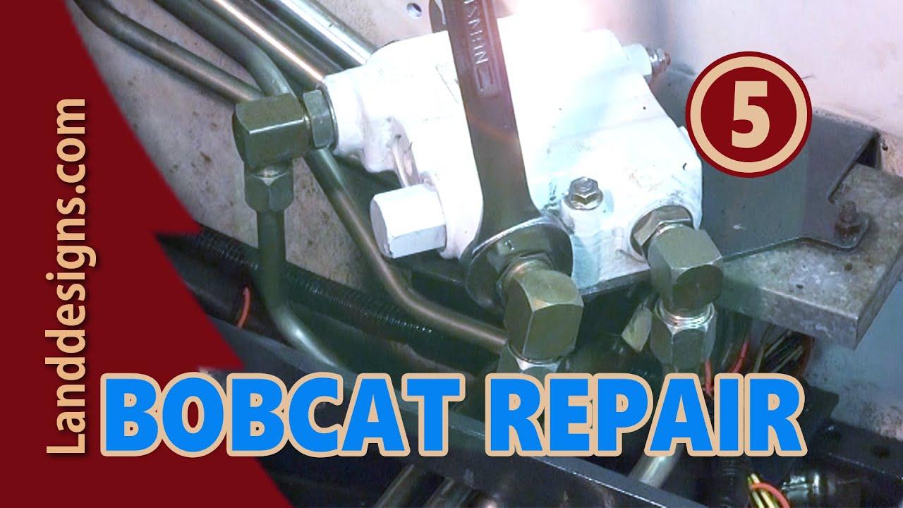 Bobcat Hydraulic Repair 5