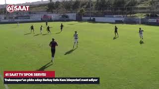 Trabzonspor'un yıldız adayı Berkay Sefa Kara büyülüyor