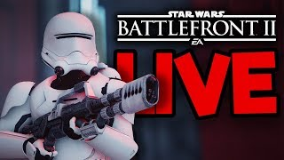Funny Stories: Star Wars Battlefront 2 Live Stream - Meet #TeamSilkie