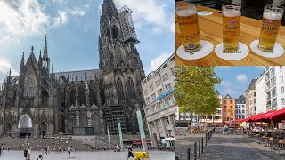 Cologne Germany (Cathedral, Kölsch beer & More)  - Travel Video