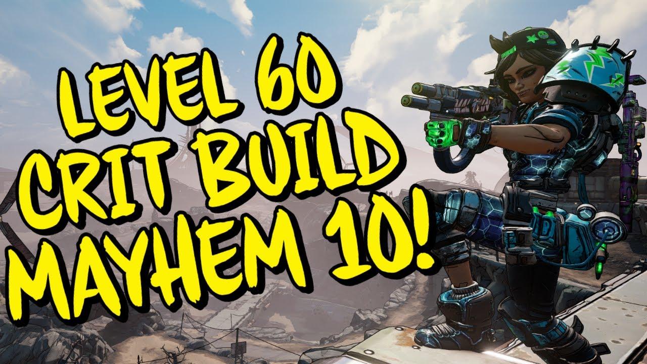 Borderlands 3 Level 60 Moze Crit Build (Mayhem 10) Destroys Everything Instantly!