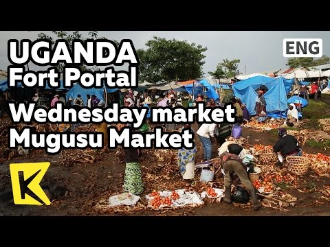 【K】Uganda Travel-Fort Portal[Uganda 여행-포트포탈]수요시장 무구수 마켓/Wednesday/Mugusu/Market/Tomato/Pancake