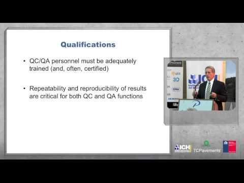 03/09/2013 Seminario Internacional de Pavimentos de Hormigón - Mark Snyder Quality Control