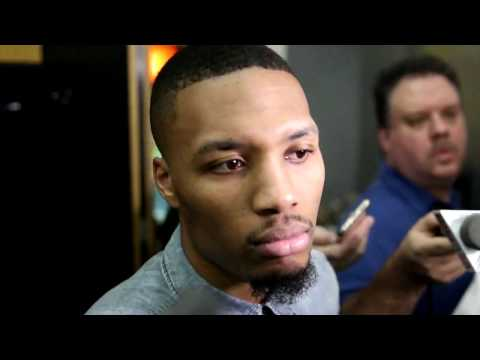 Damian Lillard after Trail Blazers loss to Rockets: We're not getting it done